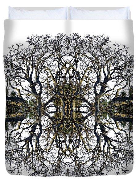 Bare Tree Duvet Cover by Debra and Dave Vanderlaan