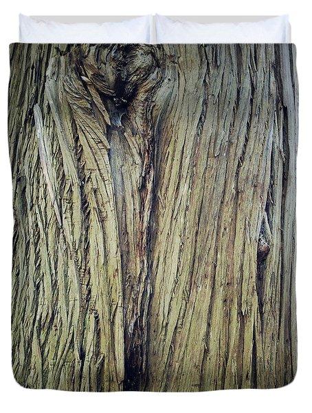 Bark Duvet Cover by Les Cunliffe