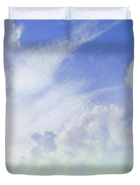 Barn on Top of the Hill Duvet Cover by Mike McGlothlen