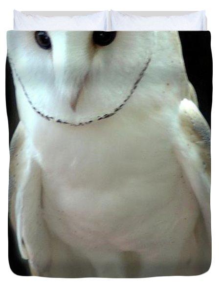 Barn Owl. Duvet Cover by Kathleen Struckle