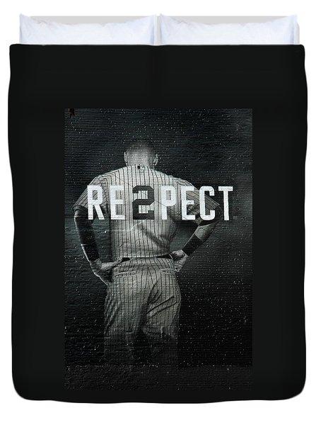 Baseball Duvet Cover by Jewels Blake Hamrick