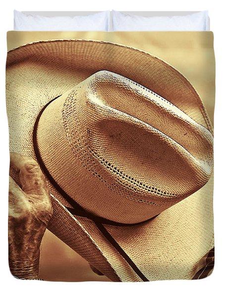 Bashful Duvet Cover by Sandi Mikuse