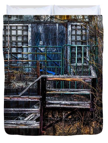 Bates Mill No 5 Duvet Cover by Bob Orsillo