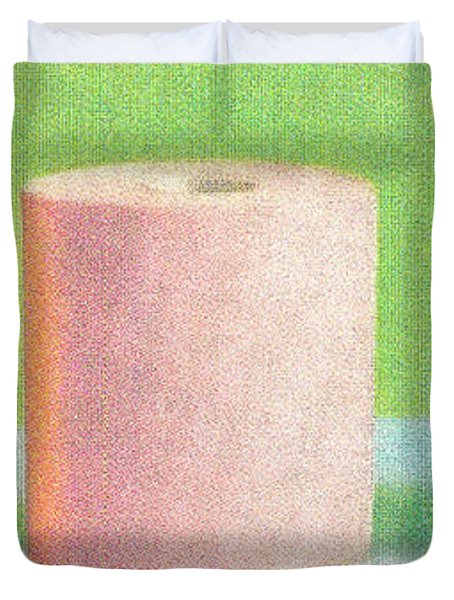 Bath tissue Now you can choose colors Duvet Cover by M and L Creations