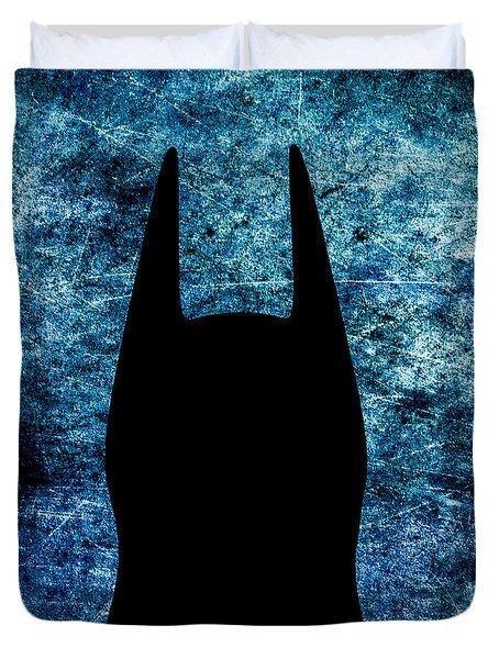Batman - Dark Knight Number 2 Duvet Cover by Bob Orsillo