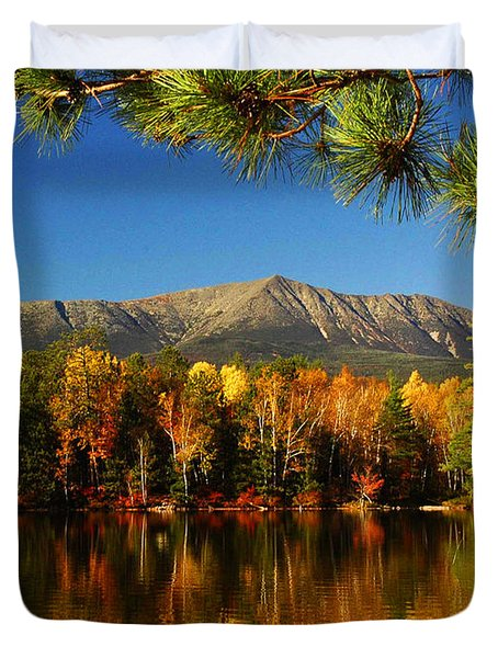 Baxter Fall Reflections  Duvet Cover by Alana Ranney