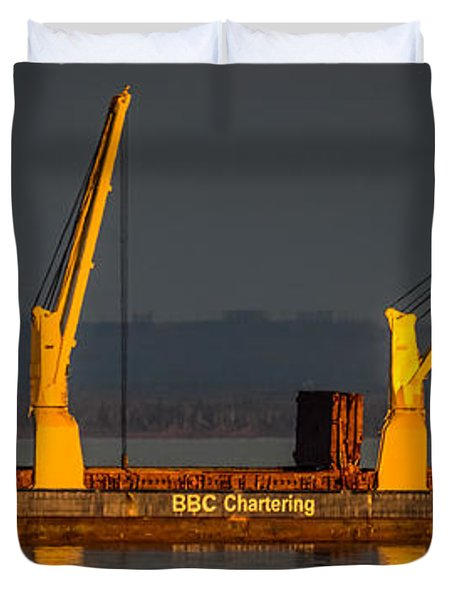 BBC Chartering Duvet Cover by Paul Freidlund