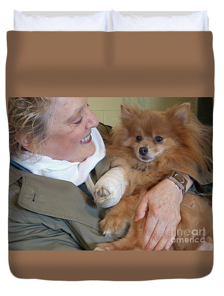 Be Better Soon Duvet Cover by Ann Horn