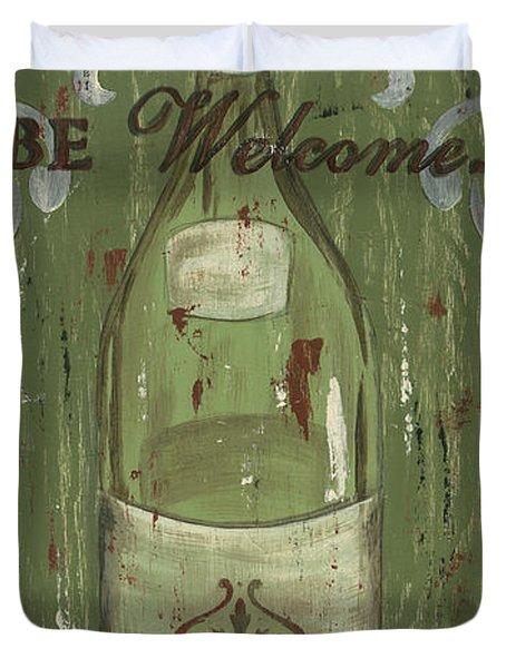 Be Our Guest Duvet Cover by Debbie DeWitt