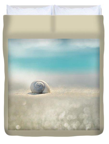 beach house Duvet Cover by Laura  Fasulo