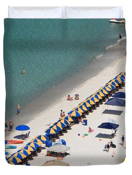 Beach Life  Duvet Cover by Jennifer E Doll