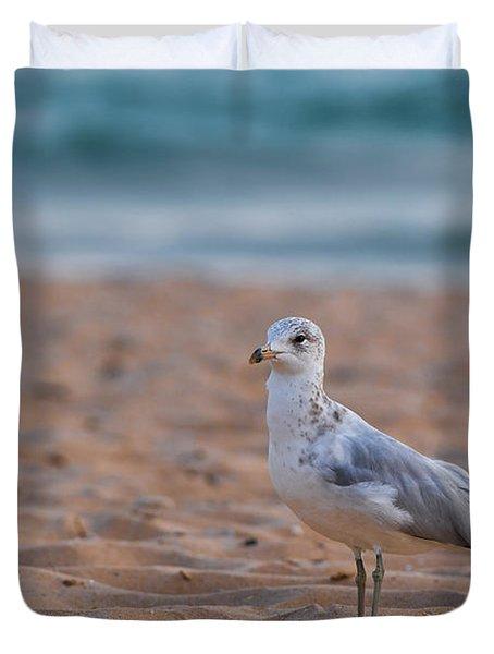 Beach Patrol Duvet Cover by Sebastian Musial