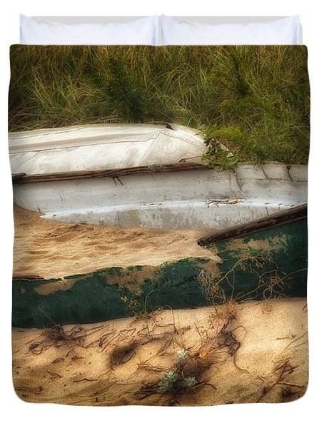 Beached Duvet Cover by Bill  Wakeley