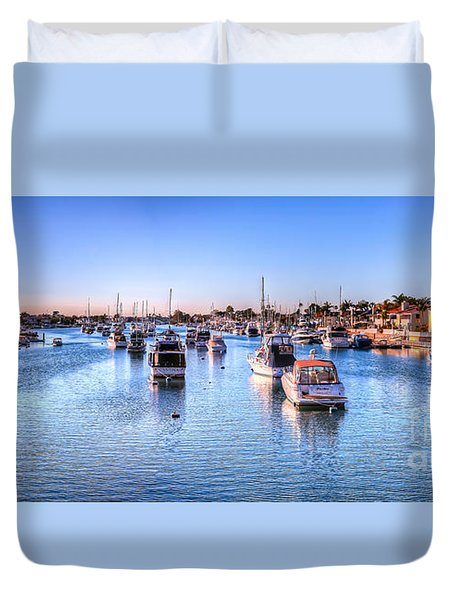 Beacon Bay Duvet Cover by Jim Carrell