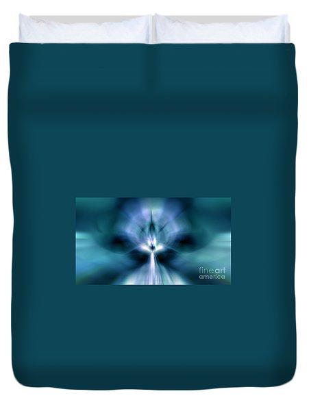Beam Me Up Duvet Cover by Peter R Nicholls