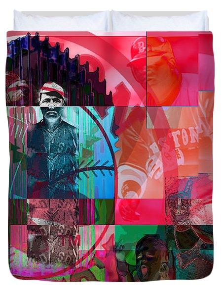 Bean Town Duvet Cover by Jimi Bush