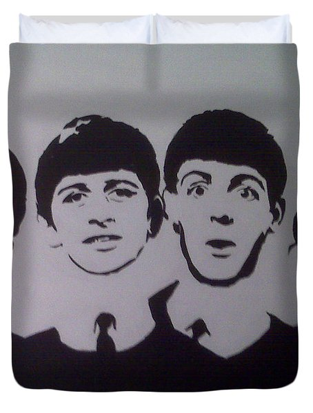 Beatles Duvet Cover by Tamir Barkan