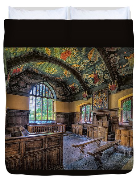 Beautiful 17th Century Chapel Duvet Cover by Adrian Evans