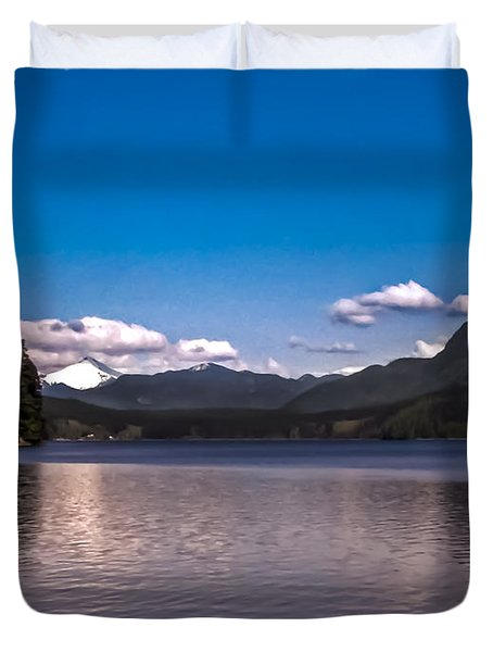 Beautiful BC Duvet Cover by Robert Bales