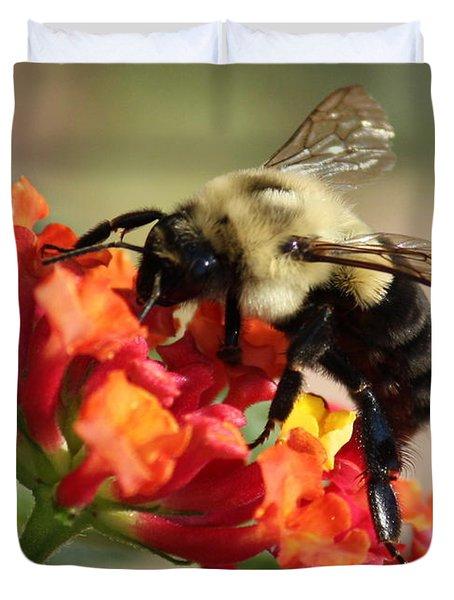 Beautiful Bee Duvet Cover by Carol Groenen