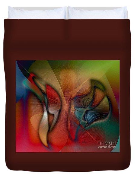 Beautiful Catch Duvet Cover by Iris Gelbart