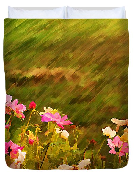 Beautiful Cosmos Duvet Cover by Darren Fisher