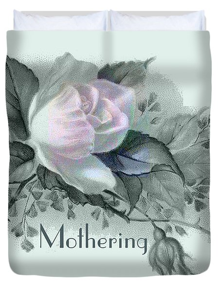 Beautiful Flowers For Mother's Day Duvet Cover by Sarah Vernon