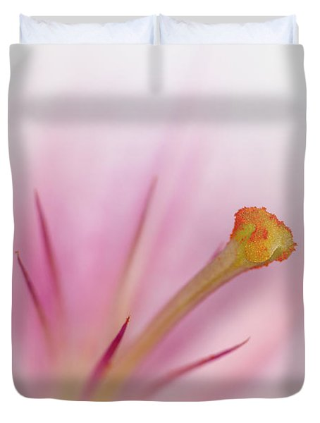 Beautiful Lily Duvet Cover by Melanie Viola