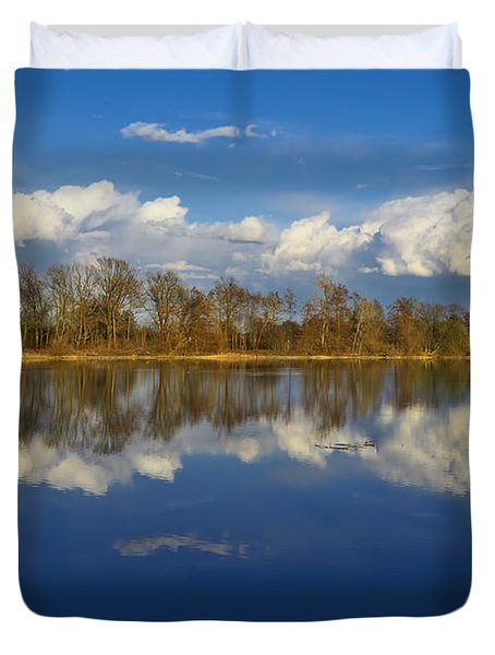 Beautiful Reflection Duvet Cover by Ivan Slosar
