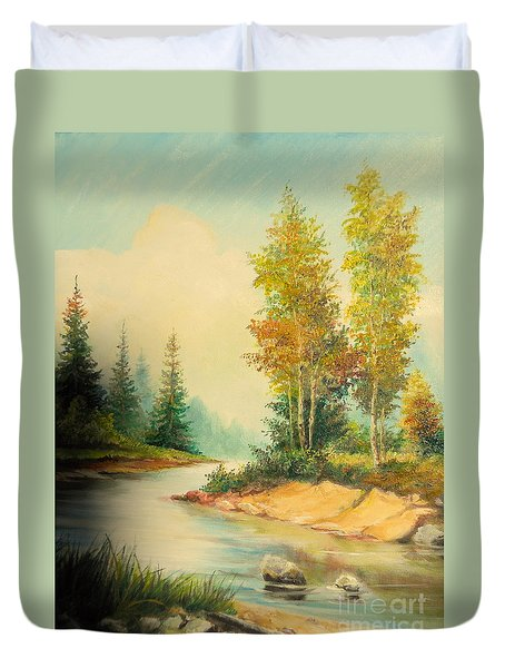 Beautiful Wild Duvet Cover by Sorin Apostolescu
