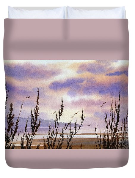 Beautiful World Duvet Cover by James Williamson