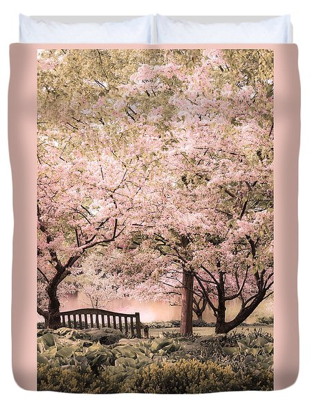 Beauty Of A Spring Garden Duvet Cover by Julie Palencia