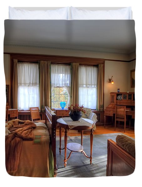 Bedroom Glensheen Mansion Duluth Duvet Cover by Amanda Stadther