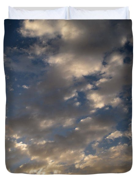 Before The Rain Duvet Cover by Joseph Baril