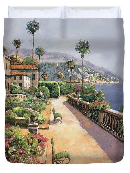 Bella Amalfi Duvet Cover by Guido Borelli