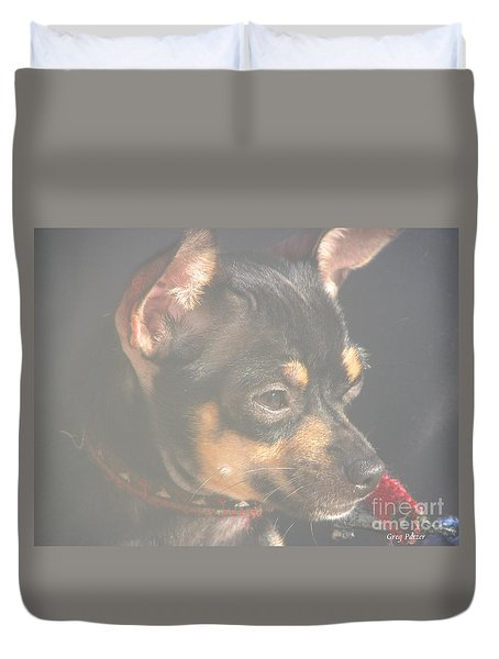 Bella Duvet Cover by Greg Patzer