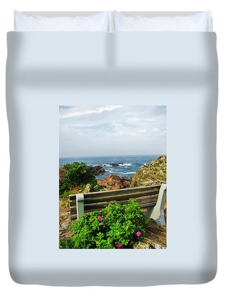 Marginal Way Duvet Cover by Diane Valliere