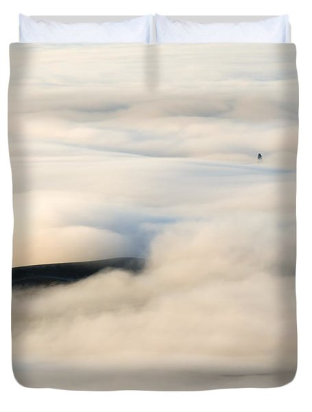Beneath The Blanket Duvet Cover by Mike  Dawson