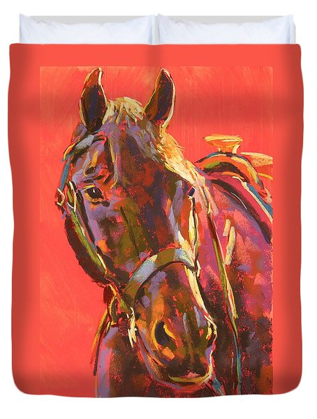 Benny Duvet Cover by Mary McInnis