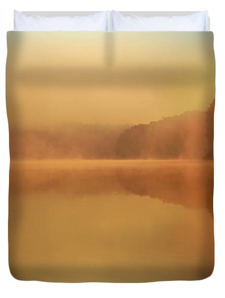 Beside Still Waters Duvet Cover by Rob Blair