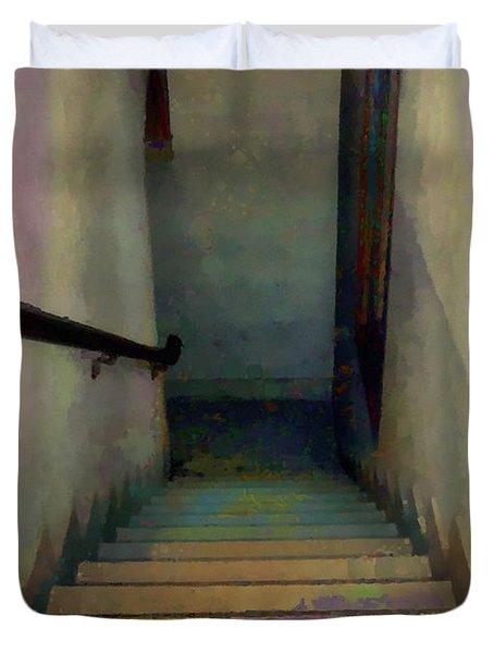 Between Floors Duvet Cover by RC DeWinter