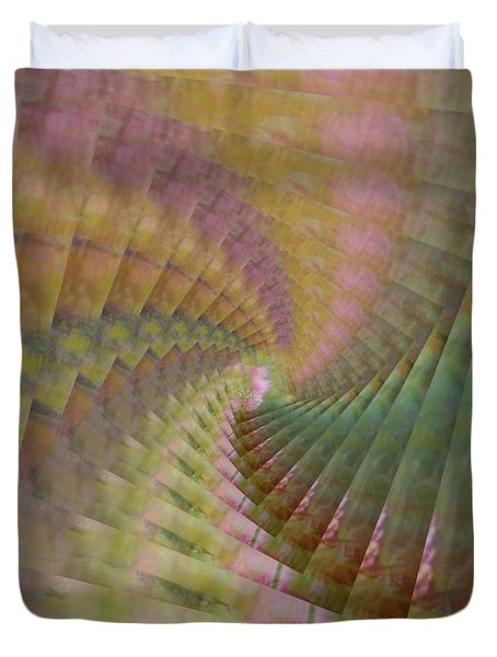 Between Heaven And Earth Duvet Cover by PainterArtist FIN