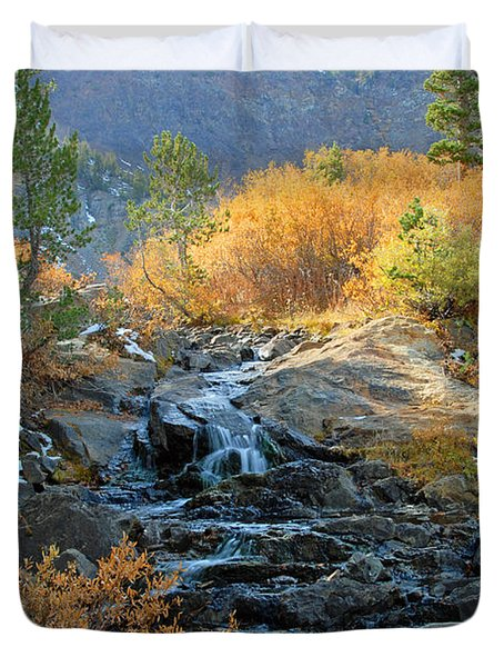 Between The Virginias Duvet Cover by Lynn Bauer