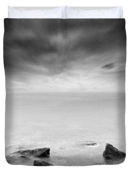 Beyond the horizon Duvet Cover by Taylan Soyturk