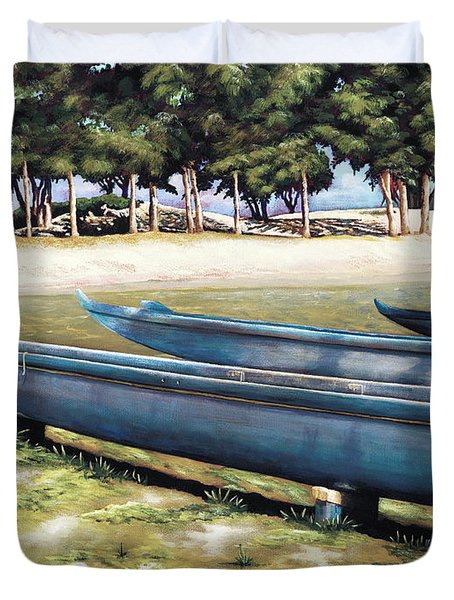 Biding Time Duvet Cover by Sandra Blazel - Printscapes