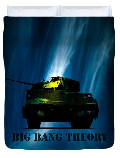 Big Bang Theory Duvet Cover by Bob Orsillo
