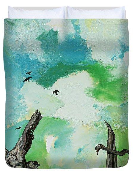 Big Sky Duvet Cover by Joseph Demaree