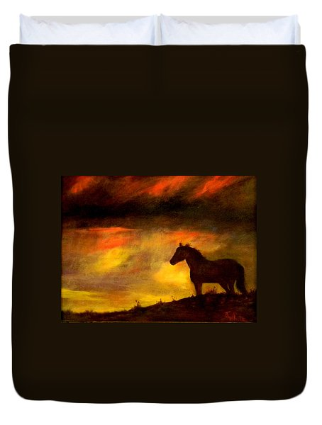 Big Sky Duvet Cover by Judie White