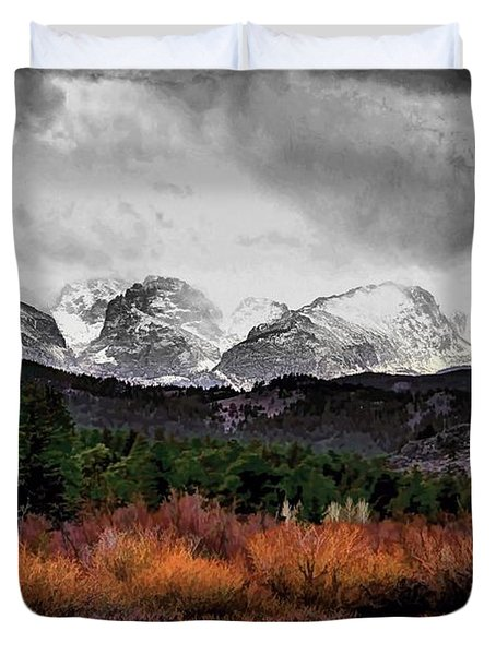 Big Storm Duvet Cover by Jon Burch Photography