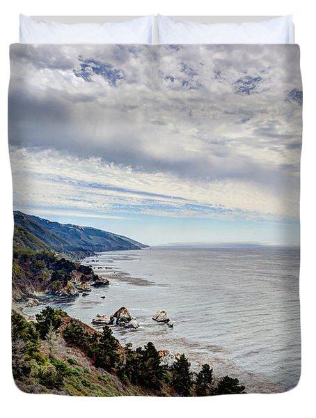 Big Sur Coast Duvet Cover by Heidi Smith